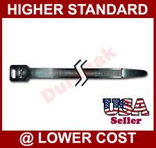"""100 PCS 17/"""" Cable Wire Zip Tie Heavy Duty 165 Lbs Black Indoor Outdoor Fastening"""