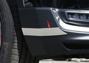 steel Front Rear bumper anti-rub strips Trim For Honda CRV CR-V 2017 2018 2019
