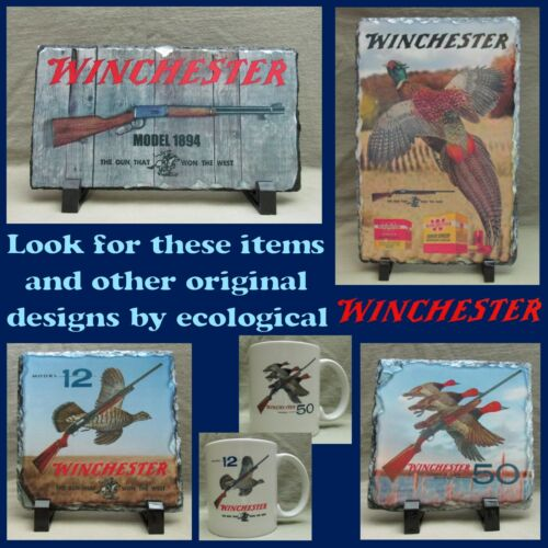 Metal Light Switch Cover Rustic Old Tin Sign Look Winchester Model 1894 New