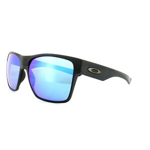 21285c9f800 Oakley Sunglasses TwoFace XL OO9350-05 Matt Black Sapphire Iridium ...