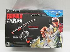 Rapala Pro Bass Fishing Bundle (Sony PlayStation 3 PS3, 2010) NEW in Open Box