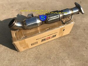 """1320 3/"""" 13-18 FORD FOCUS ST DOWNPIPE with megaphone 2.0L ECOBOOST CATLESS TURBO"""