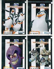 Chile 2015 Ansaldo The Penguins of Madagascar Sticker Pack 4 different