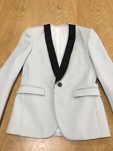 e9efec29 Image is loading Balmain-Shawl-Tuxedo-Jacket-Mens-Size-46