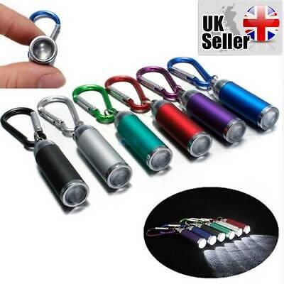 Egypto Portable Flash Light Blue Waterproof Mini LED Keyring Flash Light 3 Mode Compact Key Chain Flash Light