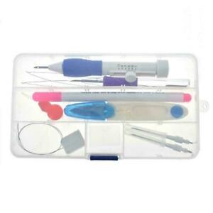 11PCS-SET-Magic-Embroidery-Pen-Punch-Needle-Set-Knitting-DIY-Crafts-Tool-Se-F1K9