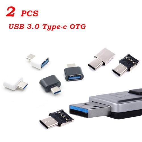 Good 2x Type-C Interface Adapter USB C Male to USB2.0 Female USB OTG Converter