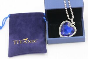 Azul-Cristal-Colgante-Collar-de-plata-pura-con-titanica-corazon-del-oceano