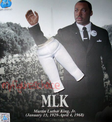 1:6 Martin Luther King Jr. 2014 Exclusive Details about  /DID Inner Padded Pants