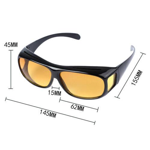 Polarized HD Night Vision Goggles Sunglasses Driving Glasses Anti-UV Car Eyewear