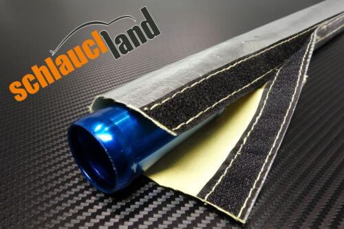 1m Alu-Kevlar Hitzeschutzschlauch ID 60mm ***Klettverschluss Kälteschutz Mantel