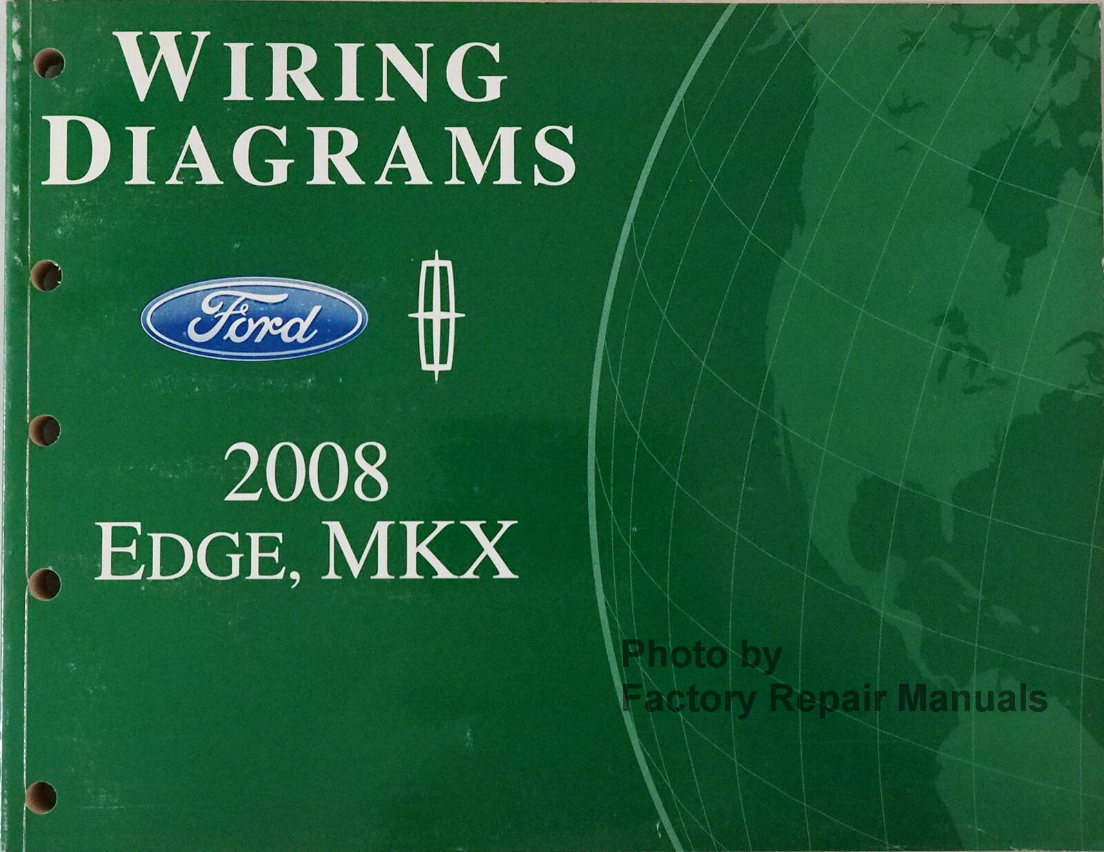 Ford 2008 Edge Mkx Wiring Diagram Service Shop Repair 08 Ebay Lincoln Norton Secured Powered By Verisign