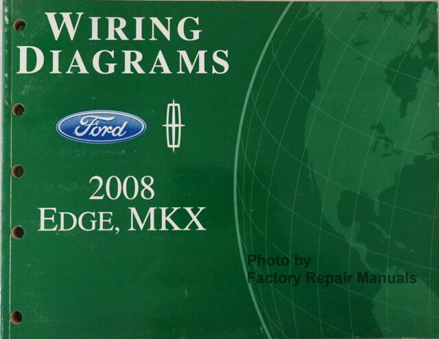 s l640 ford 2008 edge mkx wiring diagram service shop repair 08 ebay