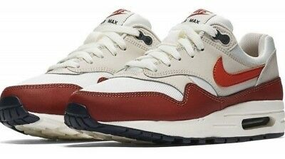Details about Nike Air Max 1 Boys Shoes Sail Vintage Coral Mars Stone 807602 103