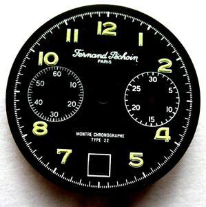 Dial-cadran-same-chronographe-Pechoin-31-8-mm-VALJOUX-234-Type-22-Military-watch