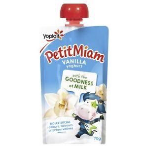 Yoplait Petit Miam Vanilla Yoghurt Pouch 70g