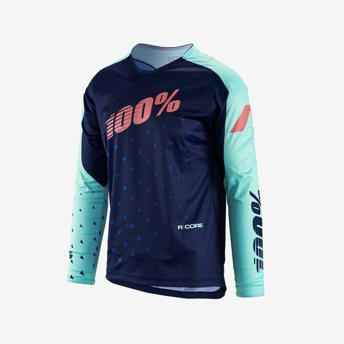 100% R-Core DH Jersey Navy LG