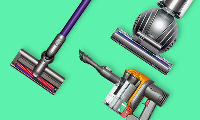 Dyson vacuums up to 50% off.