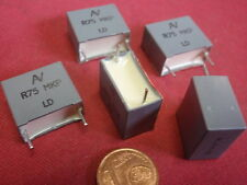 HOCHVOLT KONDENSATOR NOSTALGIE MKP 330nF 400V= 18x17x10mm RM=5mm orange 6x 25622