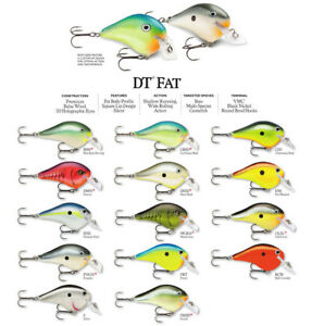 Rapala DT Fat 3 Fishing Lure