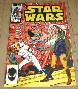 STAR WARS #104 (Mar 1986) VF Condition Comic - Scarce High-Number Issue - Nice