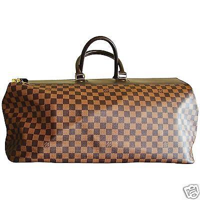 Louis Vuitton Greenwich GM Bag Brown Damier Duffel Luggage Travel MPRS