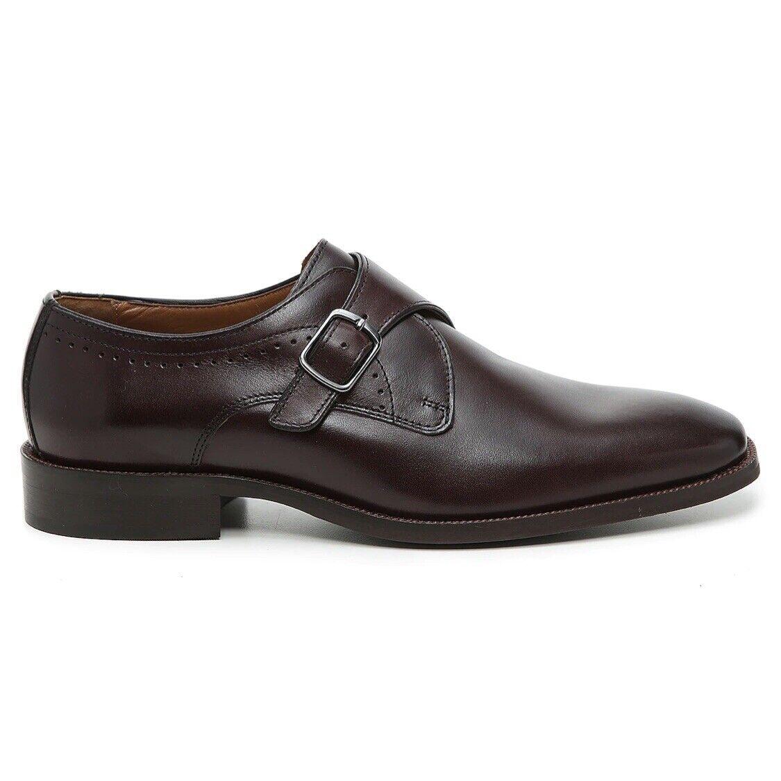 Johnston and Murphy Everette (Men's Size 12) Monk Strap Slip On Dress Shoe