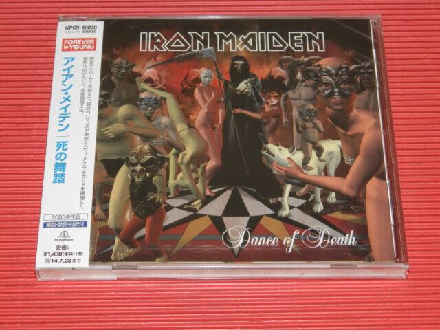 2014 JAPAN CD IRON MAIDEN DANCE OF DEATH