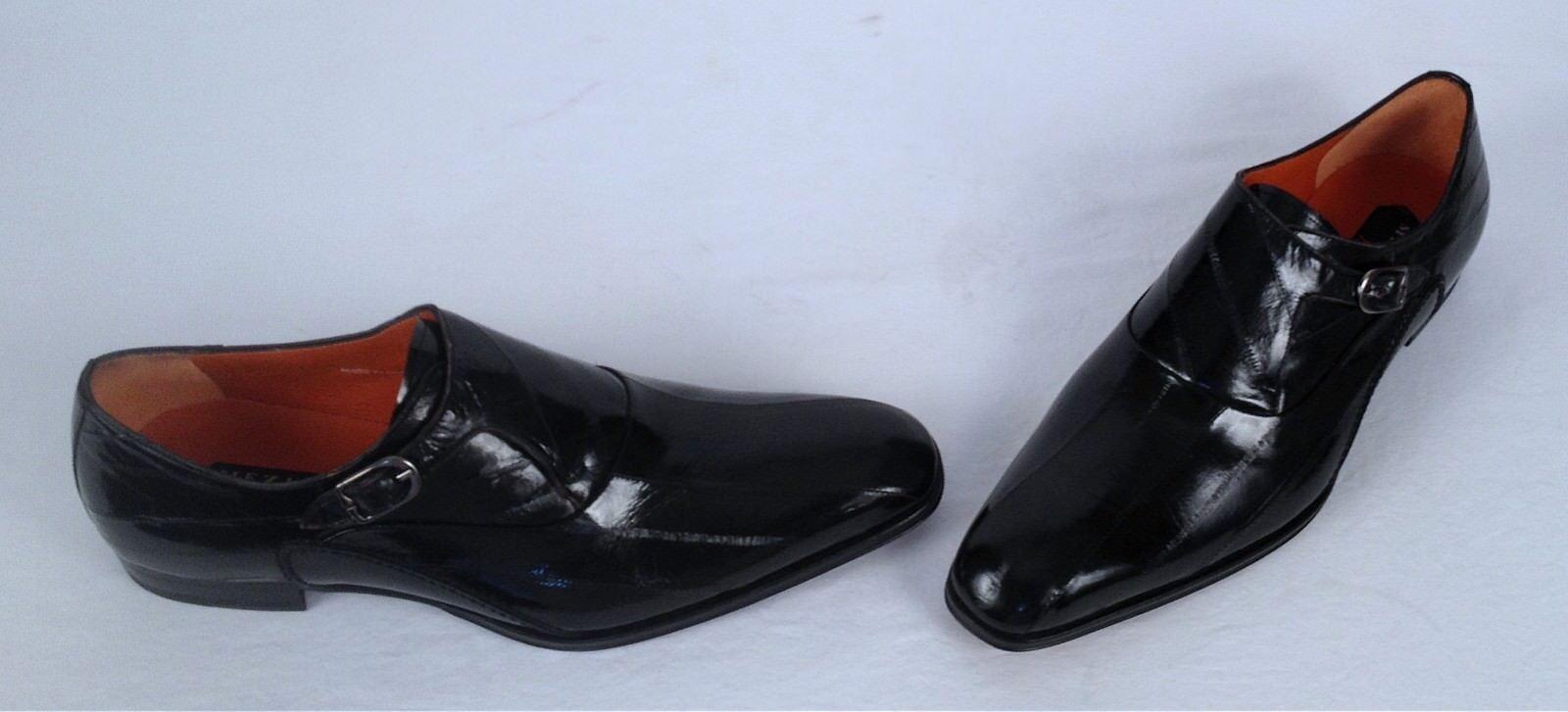 negozio outlet NEW   Mezlan Genuine EEL Monk Strap- nero- Dimensione Dimensione Dimensione 11.5 M   598 (H2)  acquisti online