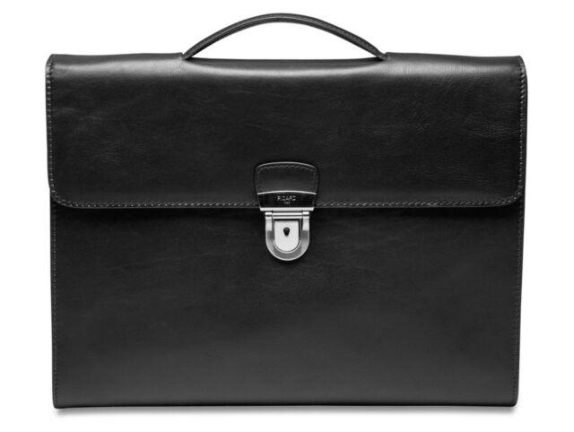 PICARD Toscana Office Bag Aktentasche Tasche Black Schwarz Neu