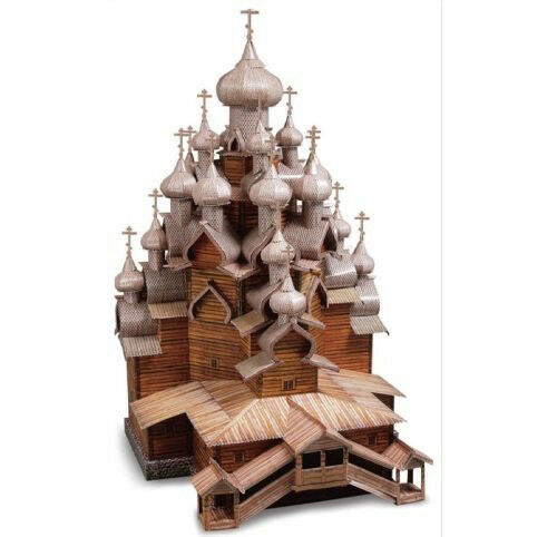 Clever 3D 14151 -Puzzle the Church of the Transfiguration of Russia