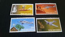 PAPUA NEW GUINEA  1972 SG 220-223 50TH ANNIV OF AVIATION  MNH
