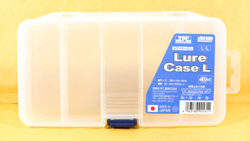 186 x 103 x 34 mm Meiho Lure Case L 1611 Clear