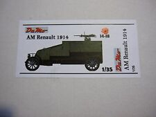 FRENCH AM RENAULT 1914 DM MODEL1:35 RESIN (NO RESICAST CRIEL AZIMUT HISTORICA )