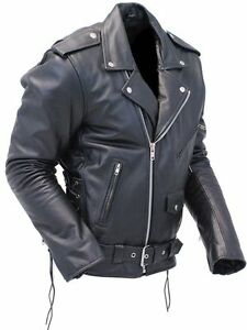 Clothing, Shoes & Accessories Vests Blouson Femme Cuir Véritable Perfecto Classique Biker Brando Style Motard High Quality Materials