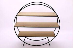mid-century-vintage-retro-1960-039-s-60-039-s-1970-039-s-70s-style-black-amp-gold-shelf-rack