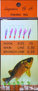 Signature-SABIKI-Rigs-Hook-Size-6-8-10-OZ-Seller-from-Qld-Fast-amp-Free-Postage