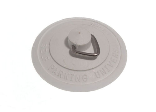 Paquet de 3 X Universel Lavabo//Bain Plug Voyage Self Seating