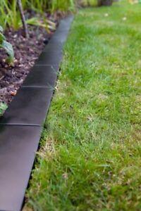 Image Is Loading Black Border Lawn Edging Border Brick Style Modern