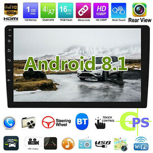 10-1-034-Android-8-1-Car-Stereo-GPS-Navi-MP5-Player-2Din-WiFi-BT-Quad-Core-FM-Radio