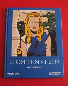Lichtenstein-Monografie-2007-Uitg-De-Morgen-Taschen-NIEUW