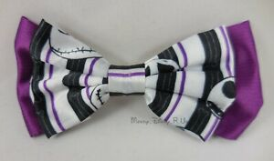 Nightmare-Before-Christmas-Jack-Cosplay-Hair-Bow-Tie-Pin-Clip-Costume-Dress-Up