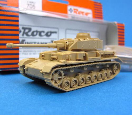 Roco Minitanks H0 705 PANZER 4 Vers.H EDW WWII Wehrmacht OVP HO 1:87 tank IV