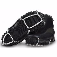 Ice Trekkers Diamond Grip Foot Traction Snow Boot Chains Traction Cleats Large