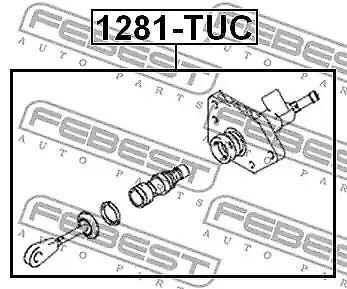 Clutch Master Cylinder  for Hyundai Tucson Kia Sportage