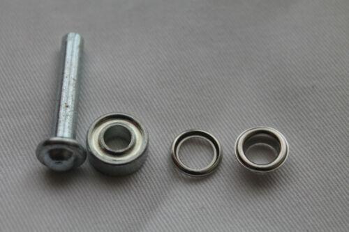Ösen mit Scheiben 8 mmØ inklusive Anleitung und Werkzeug Rostfrei Silber