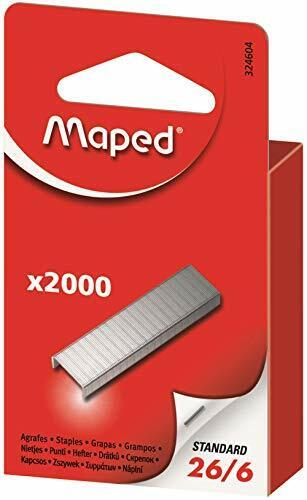 Maped Staples Pack of 2000 Size 26//6