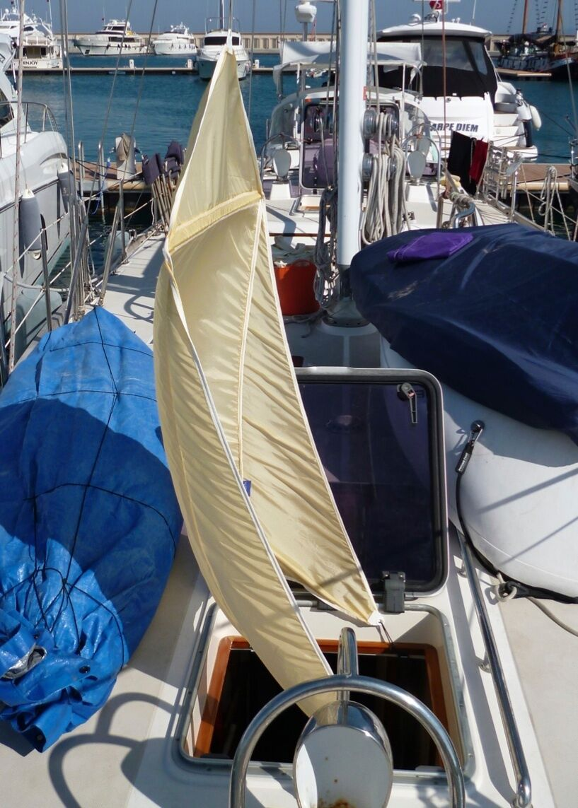 AIR SCOOP HATCH VENTILATION WIND TROPICAL SAIL COOL AIRSCOOP CABIN YACHT