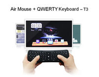 T3 2.4G Wireless Fly Air Mouse Remote Touch Keyboard  For Mini PC Android TV Box