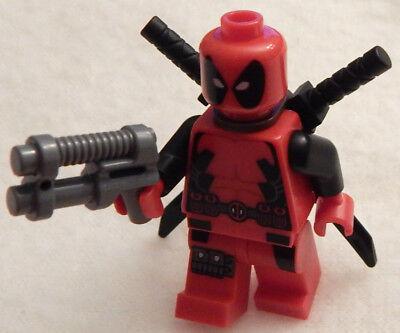 LEGO DEADPOOL DEWAYNE WADE MARVEL SUPER HEROES MINIFIGURE CUSTOM 1 6866